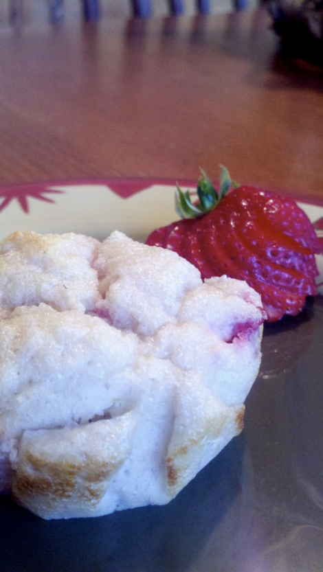 Strawberry Cupcakes! By BeautyBeyondBones #glutenfree #grainfree #paleo #sugarfree #edrecovery #specificcarbdiet #food
