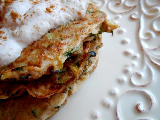 glutenfreehappytummy: Zucchini Bread Pancakes! GF, BED, SCD!