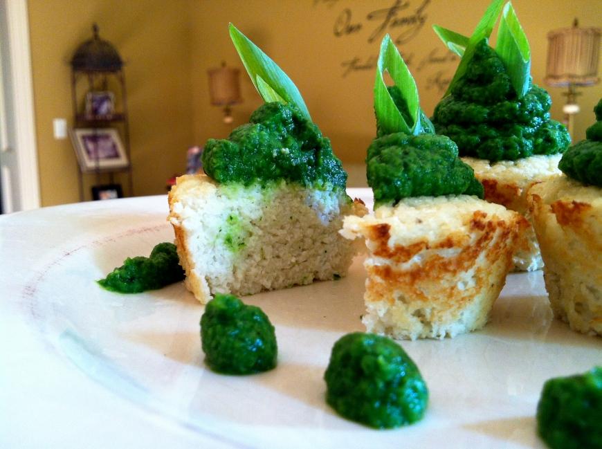 Savory Cauliflower Cupcakes #glutenfree #vegan #paleo #grainfree #SCD #beautybeyondbones #edrecovery #food